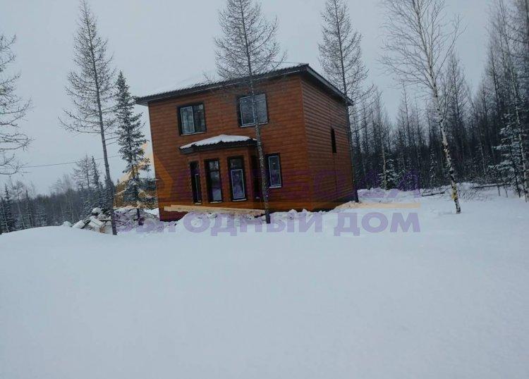 Готовый дом из сип панелей в Лабытнанги, Ямало-Ненецкий автономный округ