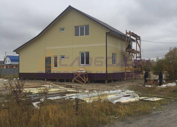 Готовый дом из сип панелей в Пыть-Ях, Ханты-Мансийский автономный округ