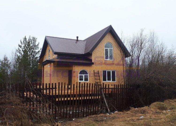 Готовый дом из сип панелей в Мегион, Ханты-Мансийский автономный округ - Югра