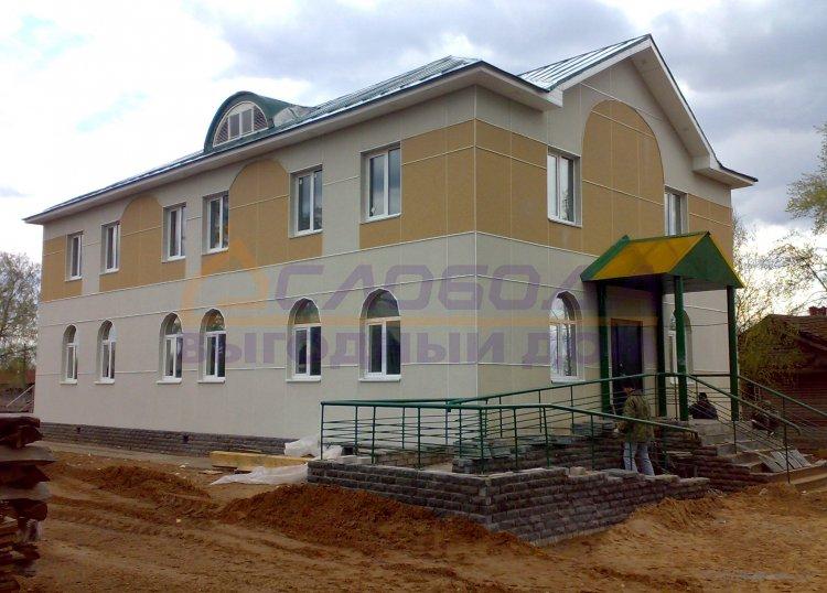 Готовый дом из сип панелей в Белая Холуница