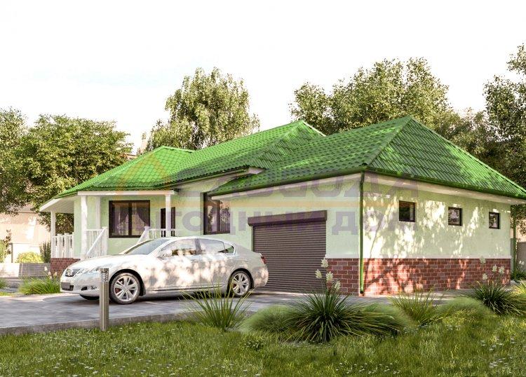 Готовый дом из сип панелей в д. Верхние Кропачи, Кировская область