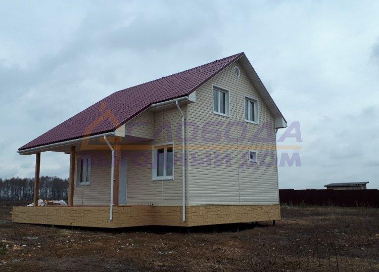 Готовый дом из сип панелей в деревня Выболово Богородского района Нижегородской области