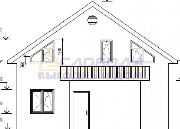 Готовый дом из сип панелей в Киров, Кировская область