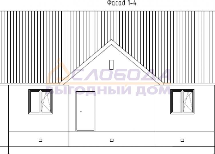 Готовый дом из сип панелей в пгт Санчурск Кировской области