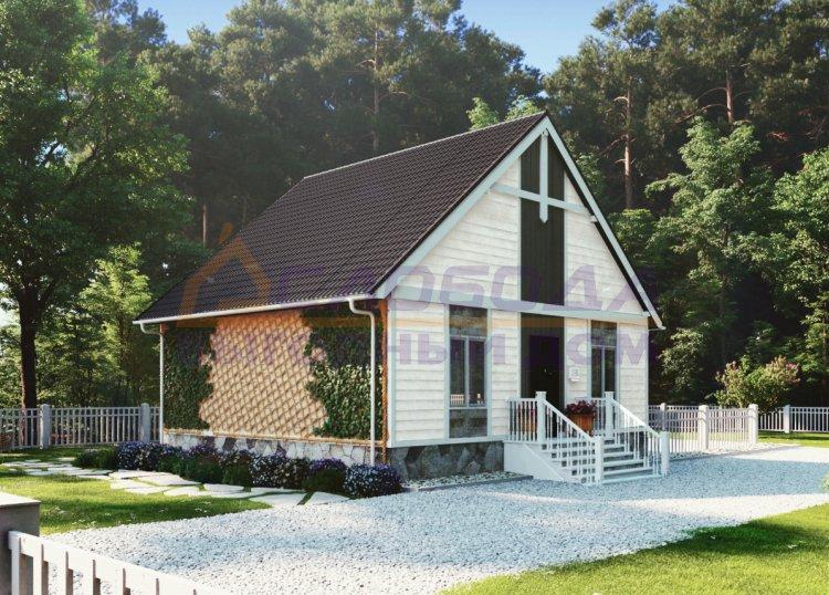 Строительство одноэтажного жилого дома