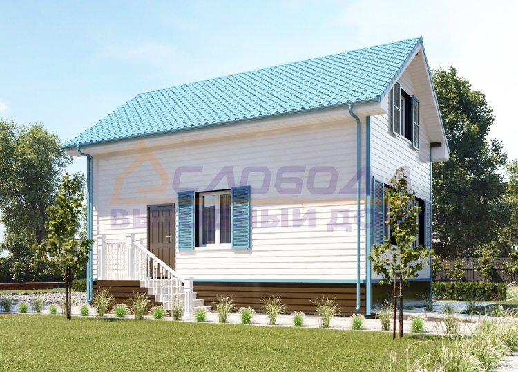 Готовый дом из сип панелей в Нарьян-Мар, Ненецкий автономный округ