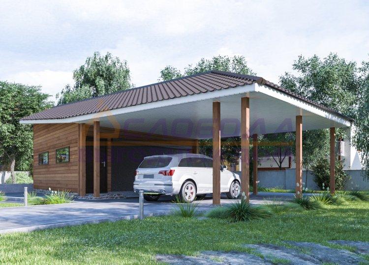 Готовый дом из сип панелей в г. Кирово-Чепецк, Кировская область