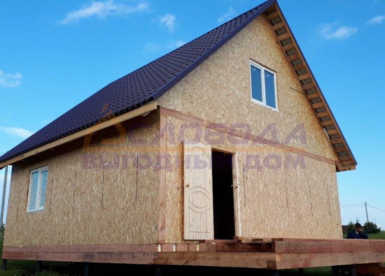 Готовый дом из сип панелей в Кировская обл., г. Киров