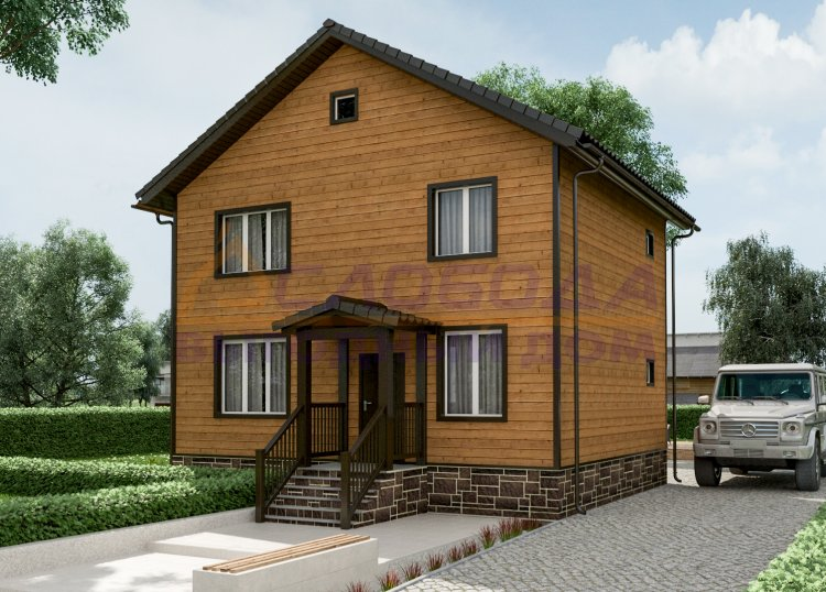 Готовый дом из сип панелей в Салехард, Ямало-Ненецкий автономный округ