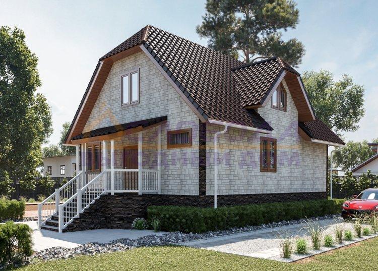 Готовый дом из сип панелей в пос. Тазовский, ЯНАО