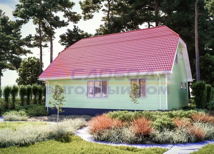 Готовый дом из сип панелей в п. Тазовский, Ямало-Ненецкий автономный округ