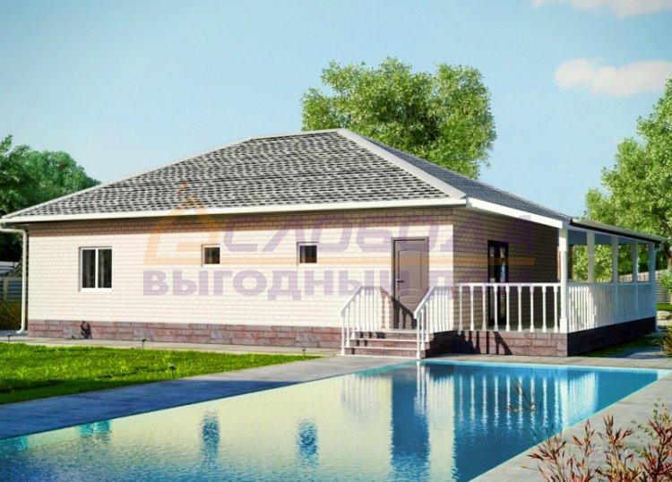 Готовый дом из сип панелей в п. Кстинино, Кировская область