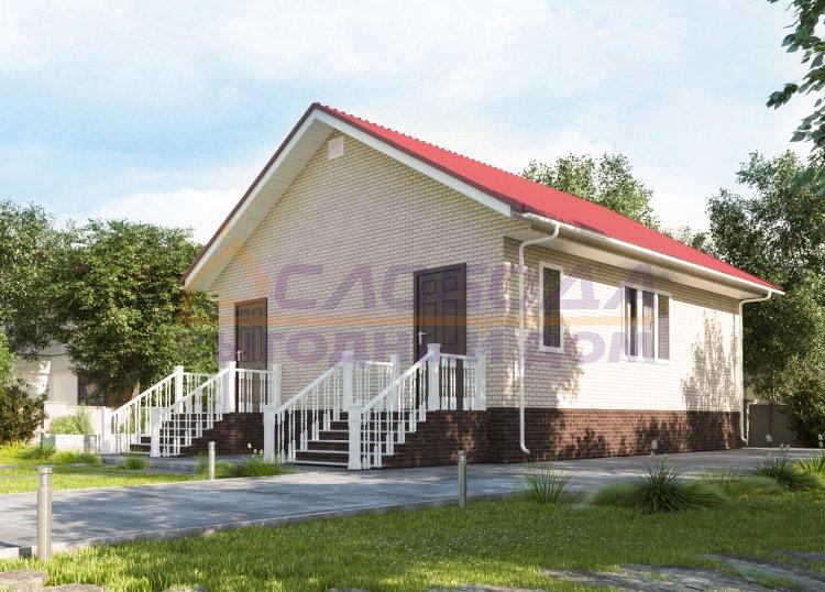 Готовый дом из сип панелей в д. Захарвань, Республика Коми