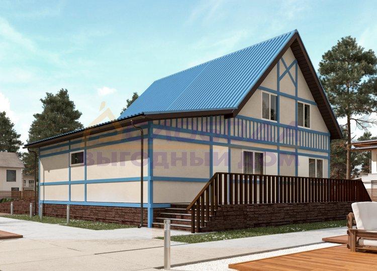 Готовый дом из сип панелей в г. Лабытнанги, Ямало-Ненецкий автономный округ