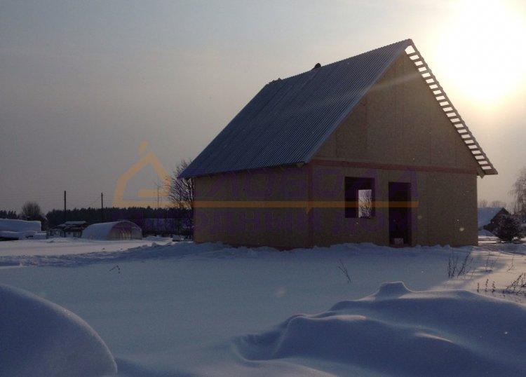 Готовый дом из сип панелей в дер. Ившины, Кировская область
