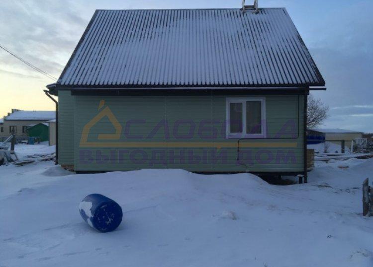 Готовый дом из сип панелей в пос. Красное, Ненецкий АО, Архангельская область