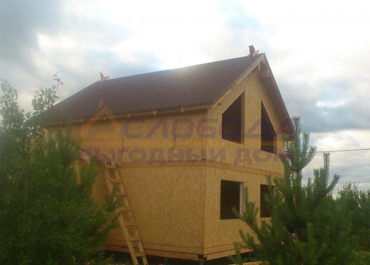 Готовый дом из сип панелей в С/п Денисовское, Кировская область