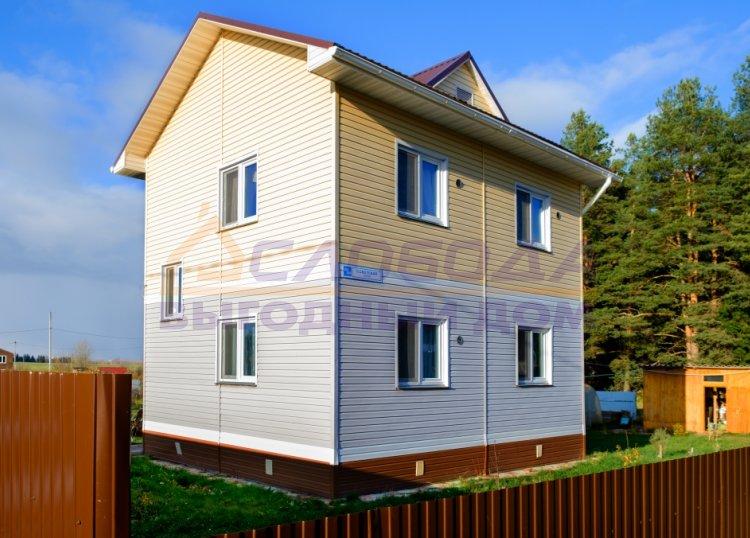 Готовый дом из сип панелей в п. Чистые Пруды, г. Киров, Кировская область