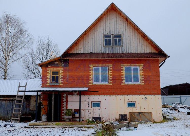 Готовый дом из сип панелей в д. Столбово, Кировская область