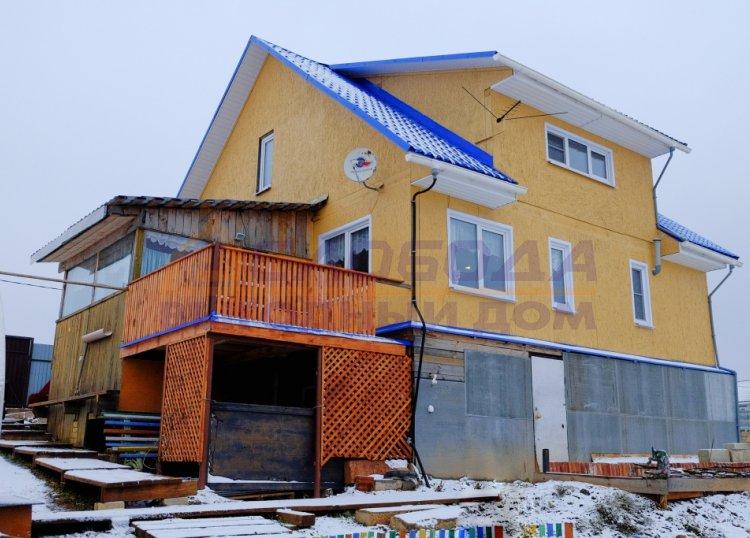 Готовый дом из сип панелей в сл. Санниковы, Кировская область