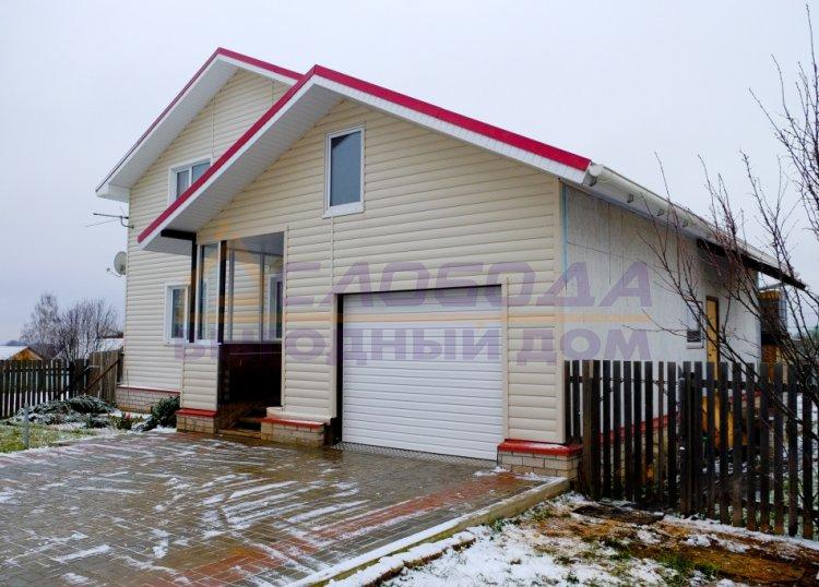 Готовый дом из сип панелей в д. Шубино, Кировская область