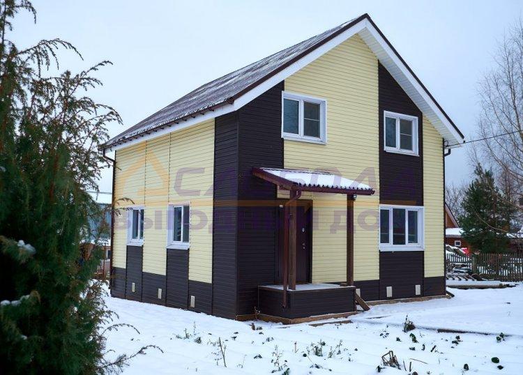 Готовый дом из сип панелей в п. Дороничи, г. Киров, Кировская область