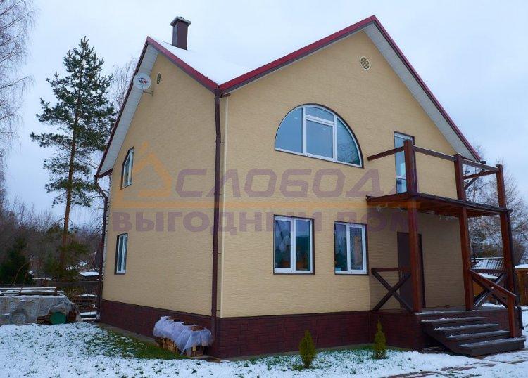 Готовый дом из сип панелей в терр. сдт Заречье, Кировская область