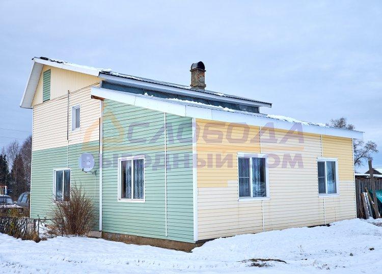 Готовый дом из сип панелей в дер. Агалаченки, Кировская область