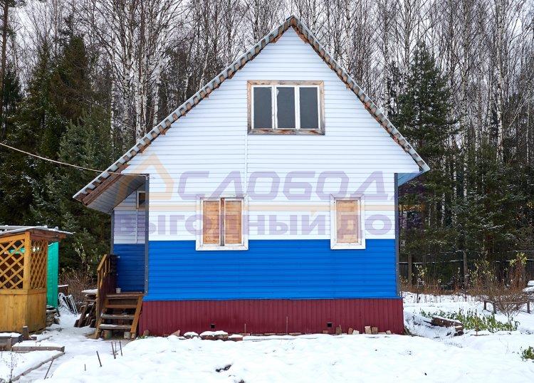 Готовый дом из сип панелей в сдт. Шинник, Кировская область