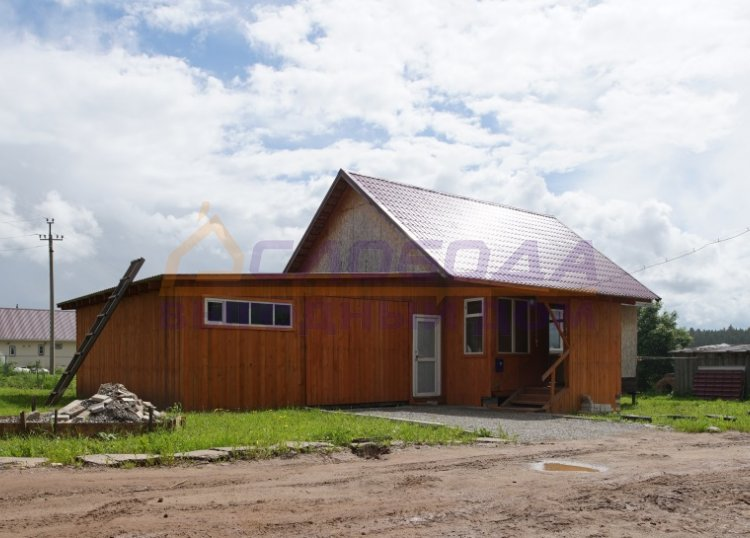 Готовый дом из сип панелей в пос. Дороничи, г. Киров