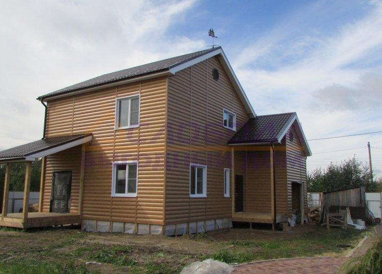 Готовый дом из сип панелей в пгт. Краснозатонский, респ. Коми