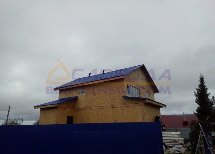 Готовый дом из сип панелей в Нарьяна-Мар, Ямало-Ненецкий автомный округ