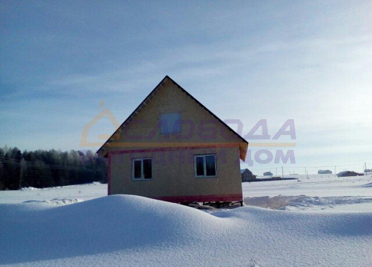 Готовый дом из сип панелей в д. Луза, Кировская область
