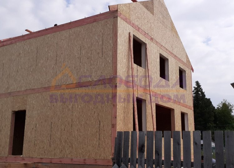 Готовый дом из сип панелей в Ханты-Мансийск, Ханты-Мансийский автономный округ