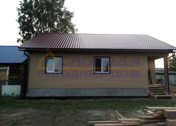 Готовый дом из сип панелей в пос. Алябьевский Советского района Тюменской области