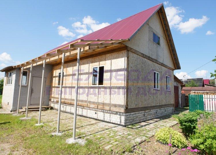 Готовый дом из сип панелей в мкр. Лянгасово, г. Киров, Кировская область