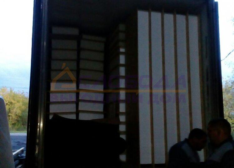 Готовый дом из сип панелей в г. Нарьян - Мар, НАО