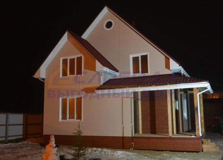 Готовый дом из сип панелей в Нарьян-Мар, Ямало-Ненецкий автономный округ