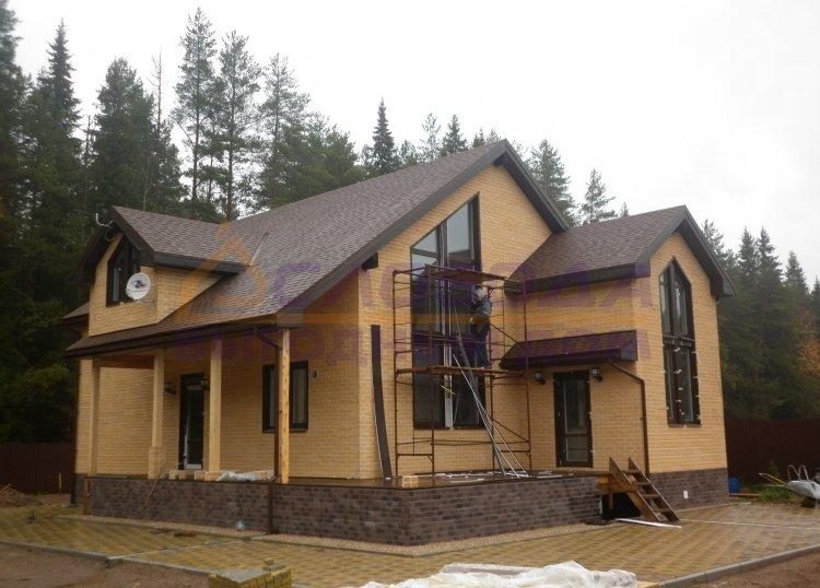 Готовый дом из сип панелей в д. Сунцовы, Кировская область