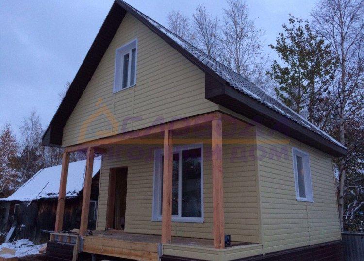 Готовый дом из сип панелей в Нижневартовск, Ханты-Мансийский автономный округ