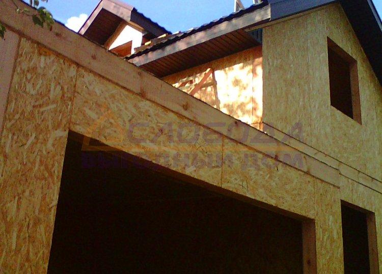 Готовый дом из сип панелей в с.Успенское, г. Слободской, Кировская область
