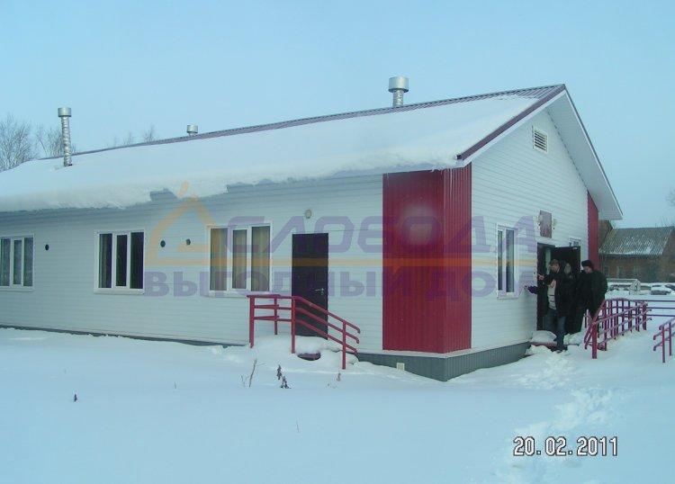 Готовый дом из сип панелей в село Русское, Кировская область