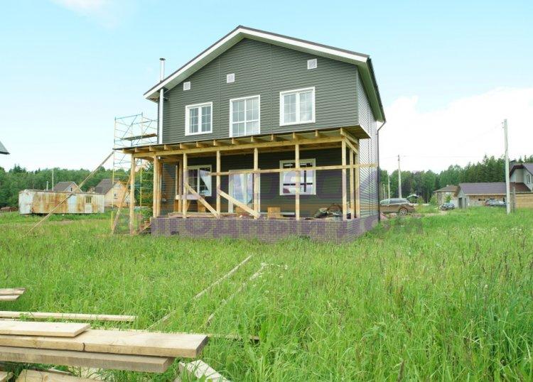 Готовый дом из сип панелей в д. Трушковы, Кировская область
