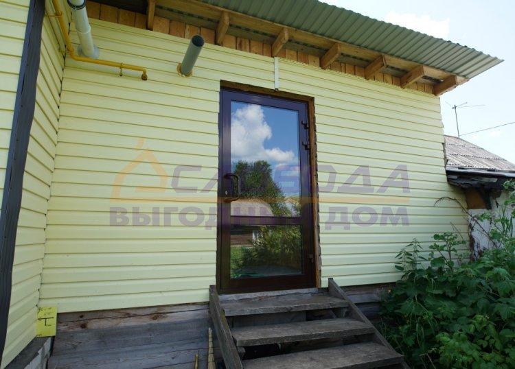 Готовый дом из сип панелей в пос. Стрижи, Кировская область
