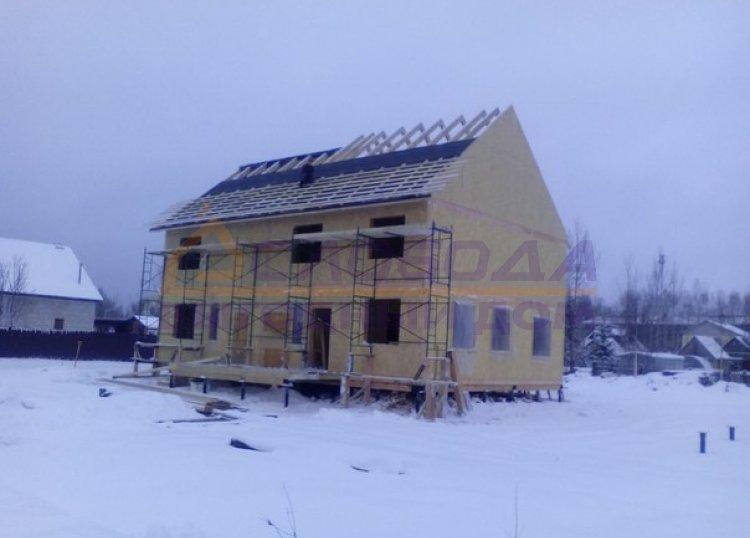 Готовый дом из сип панелей в Микунь, рес. Коми
