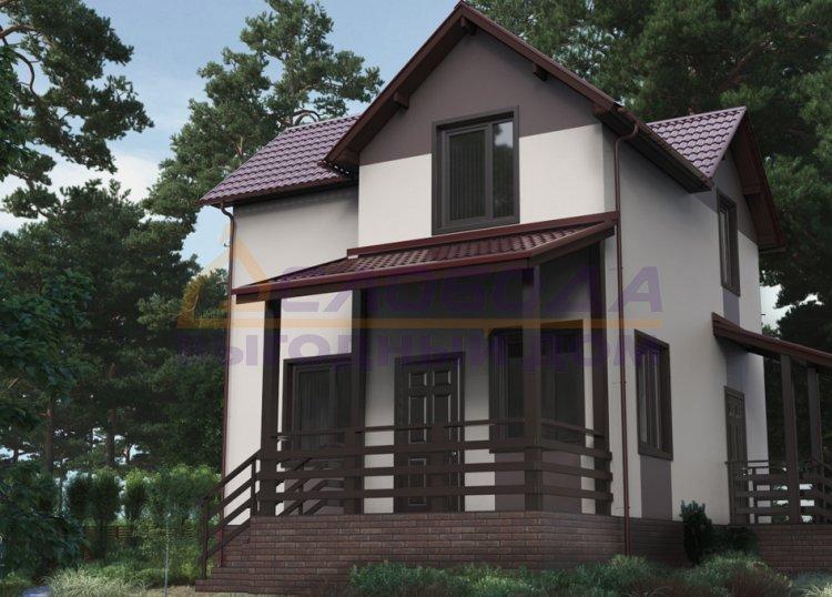 Готовый дом из сип панелей в с. Мужи, Ямало-Ненецкий автономный округ