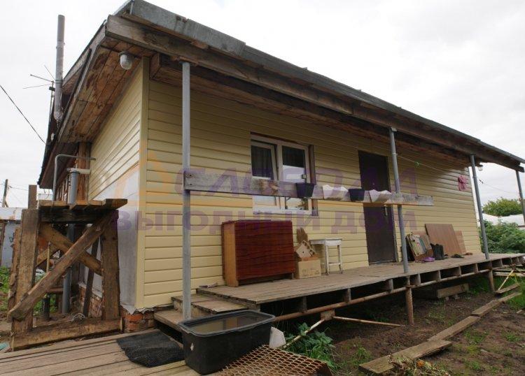 Готовый дом из сип панелей в пос. Дурни, г. Киров, Кировская область