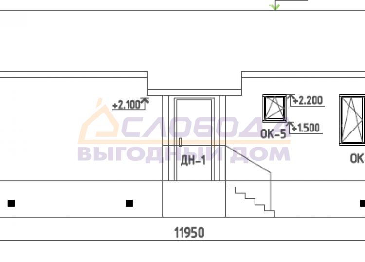 Готовый дом из сип панелей в пос. Искателей, НАО