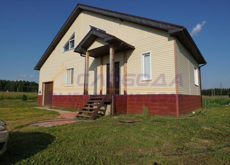 Готовый дом из сип панелей в д. Суворовы, Кировская область