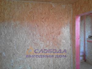 Стены дома из SIP-панелей